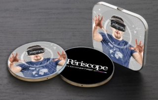 iPeriscope chargeur a induction entreprise personnalise
